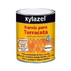 BARNIZ PARA TERRACOTA SATINADO XYLAZEL 750ML
