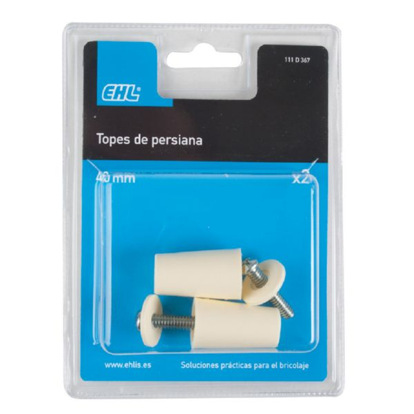 Tope persiana enrollable.