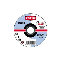 EHL Disco Ratio corte inox 125X1